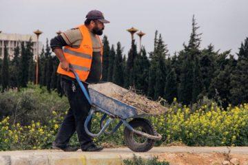 تأهيل كورنيش مدينة ادلب