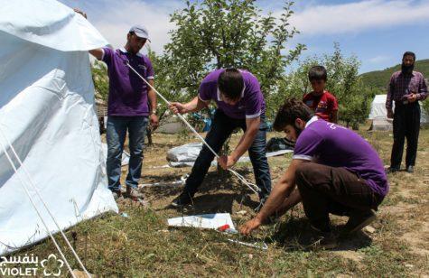 برنامج ادارة وتنسيق المخيمات