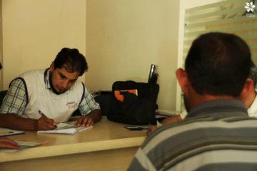 فحص مقابلة لاختيار عمال بلديات ادلب