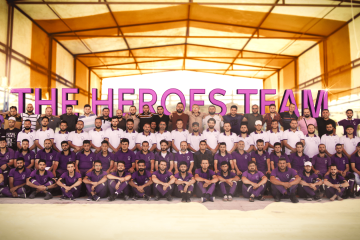 Heroes Team in First Camp in Syria