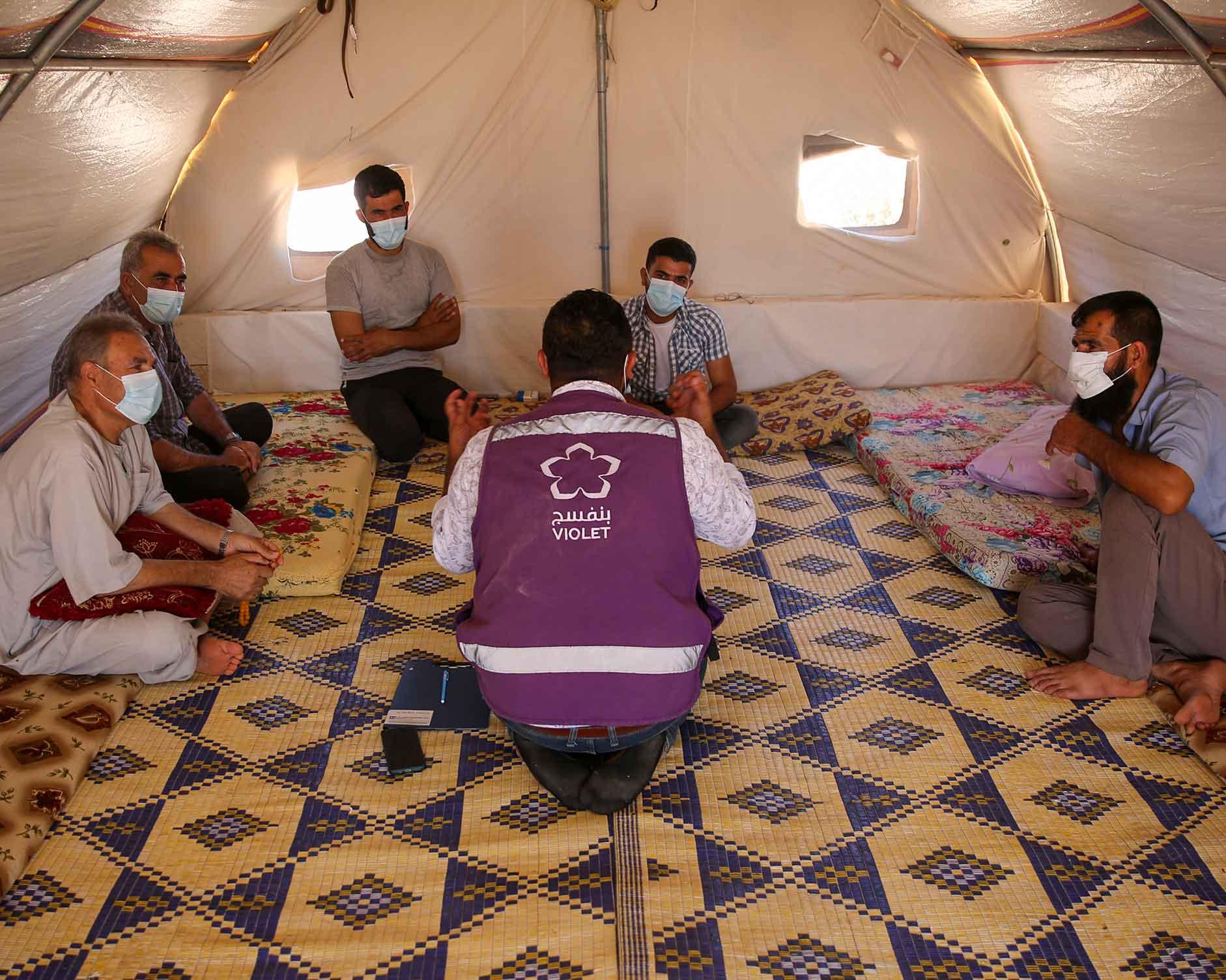 دعم المجتمع عبر المبادرات الشبابية في شمال غرب سوريا